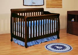 Espresso Convertible Crib by Dark Wood Crib Gender Neutral Nursery Design Features Dark Wood
