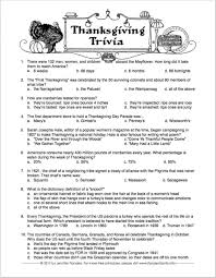 free printable thanksgiving trivia quiz challenge your family and