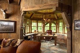 rustic home interior design ideas cozy workspaces home offices with a rustic touch