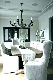 white slipcover dining chair white parson chair slipcovers miroir me
