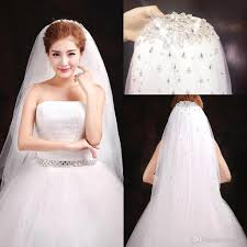 bridal veil 2017 high quality bridal veils new arrival sequined sparkly
