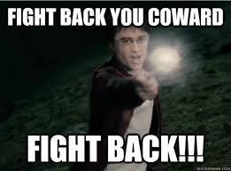Funny Fight Memes - fight back you coward fight back funny fight meme picture