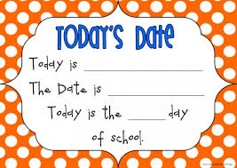 today s today s date is top teacher innovative and creative early
