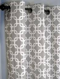 grey and white curtain panels home design ideas