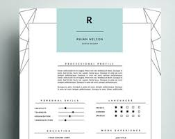 Resume Portfolio Template 3pk Resume Template S A L E 30 Cv Template Cover