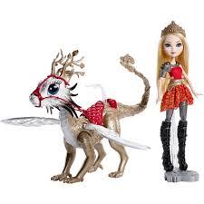 Ever After High Apple White Doll Ever After High Apple White Dragonrider Walmart Com