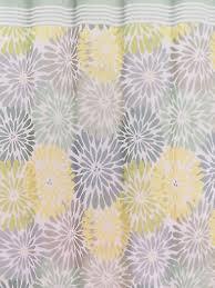 peri bayberry flower burst yellow aqua grey blue fabric shower
