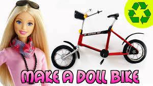 how to a doll bike easy doll crafts simplekidscrafts youtube