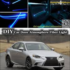 lexus is 250 tuning interior ambient light tuning atmosphere fiber optic band lights