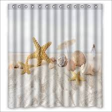 Seashell Curtains Bathroom Bathroom Awesome Luxury Shower Curtains Bed Bath Curtains