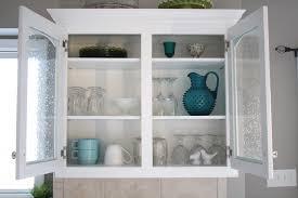Glass Kitchen Cabinet Door by Diy Frosted Glass Door