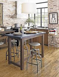 industrial kitchen furniture kitchen bistro tables industrial seating surrounds a high kitchen