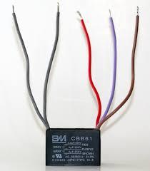 amazon com bm ceiling fan capacitor 5 wire 4 5 5 6 home u0026 kitchen