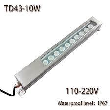 110v led work light hntd led panel light 10w ac 110v 220v concentrating metal led work
