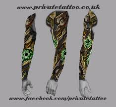 biomechanical tattoo on the south coast of uk big tattoo planet