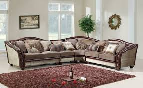 Chenille Sectional Sofas by 4 Pc Valentina Ii