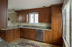 Rustic Cherry Custom Cabinets In Fairfield CT  Ackley Cabinet LLC - Rustic cherry kitchen cabinets