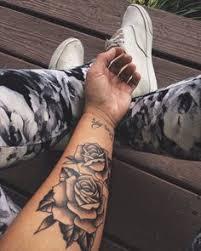 tattoos on rose tattoos eyeliner and tattoo