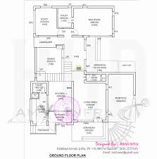 2800 square foot house plans 2 bedroom house plans ground floor beautiful modern 4 bhk house