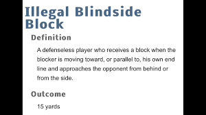Blind Side Block Penalty Jt On Twitter