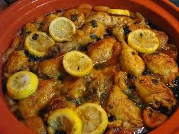 poulet aux citrons confits cuisine recette de tajine de poulet aux citrons confits et abricots