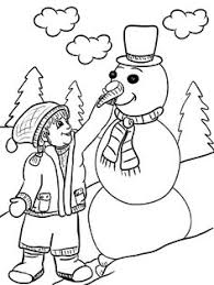 free printable winter coloring pages for kids kids sleds free