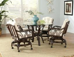 dining room chairs casters dining chairs dining caster chair with arms oak caster dining
