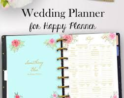 wedding planning binders wedding binder etsy