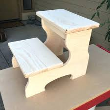 childrens step stools woodenitems similar to unfinished step stool