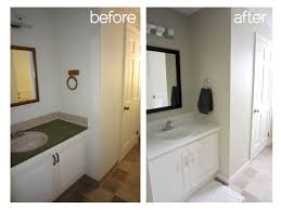 Bathroom Remodels Before And After Diy Bathroom Remodel Before And After Breathingdeeply