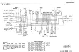 honda scooter wiring diagram with blueprint pictures 40800