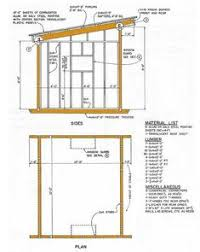 building plans images 8x12 lean to shed plans 01 floor foundation wall frame carpentry