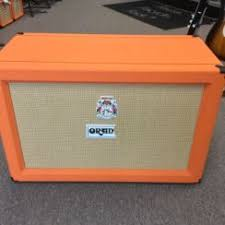 Orange Cabinet 4x12 Used Guitar Speaker Cabinets Page 1 Music Go Round Burnsville