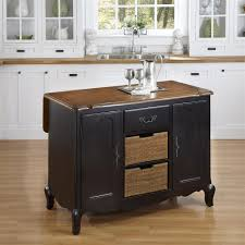 Black Kitchen Island Buy Oak And Rubbed Black Kitchen Island