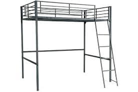 bureau metal noir lit mezzanine noir lit mezzanine 90x190cm bureau intacgrac