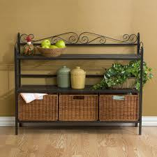 the great features of storage baskets for shelves u2013 wicker storage