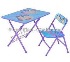 fold up children s table chic childrens folding table and chair set kids folding table and