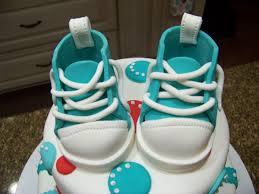 red u0026 blue baby shower cake cakecentral com