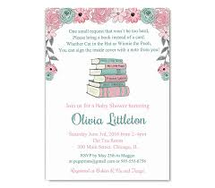 Baby Shower Invitations Bring A Book Instead Of Card Amazon Com Storybook Baby Shower Invitations Bring A Book