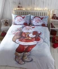 Ferrari Duvet Set Bedding Father Christmas Santa Claus Snow Quilt Duvet Cover