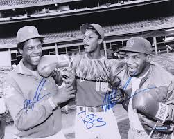 The Doc And Darryl Mets - mike tyson doc gooden darryl strawberry triple signed new york