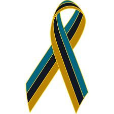 black and yellow ribbon teal black gold awareness ribbon lapel pin awareness ribbon pins