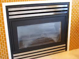 gas fireplace repair dirty glass my gas fireplace repair