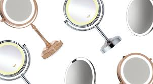 bright light magnifying mirror the best makeup mirrors with lights