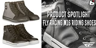 street bike riding shoes bto sports product spotlight fly racing m16 riding shoes