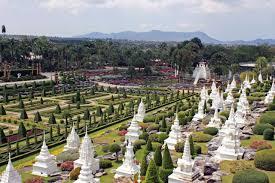 Nong Nooch Tropical Botanical Garden by The Nong Nooch Tropical Botanical Garden In Thailand U2014 Gardeny