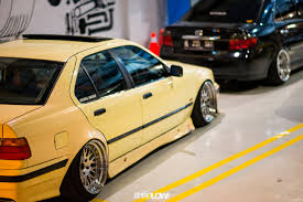 bmw e36 stanced gettinlow dimas angga 1997 bmw e36