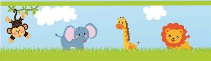 jungle baby shower border clip art ebb onlinecom