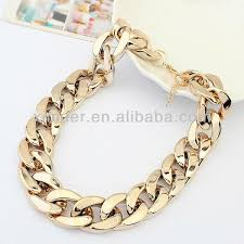 trendy gold chain necklace images Trendy gold chunky chain necklace buy chain necklace gold chain jpg