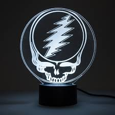 Steal Your Face Flag Grateful Dead Steal Your Face Led Lamp On Sale For 39 99 At The